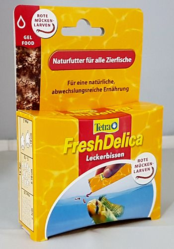 Tetra Fresh Delicia Bloodworms 48g