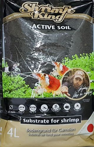 Dennerle Shrimp King Activ Soil 4 Liter