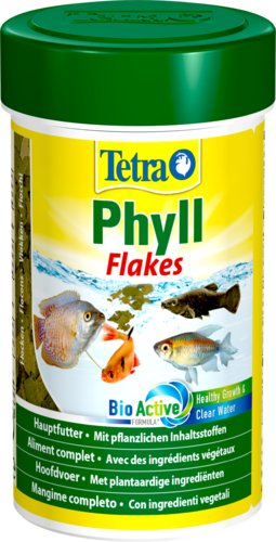 Tetra Phyll 100ml Pflanzliches Flockenfutter